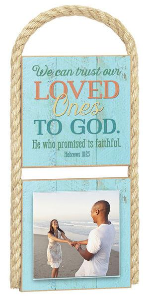Photo Frame - We Can Trust - Love the Lord Inc