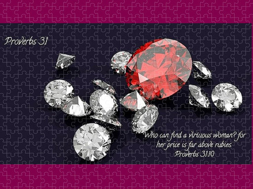 Price Far Above Rubies Proverbs 31 Woman - Puzzle - Love the Lord Inc