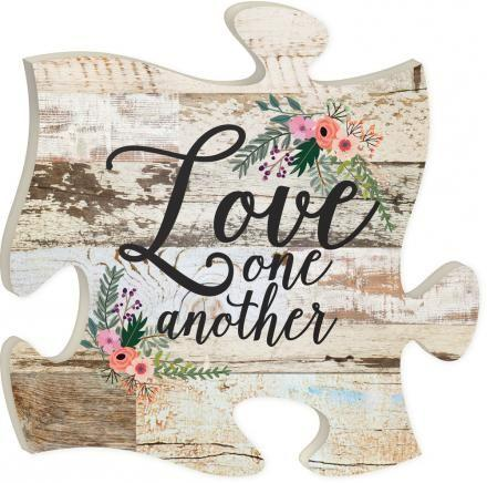 Puzzle Piece - Puzzle Art - Love One Another