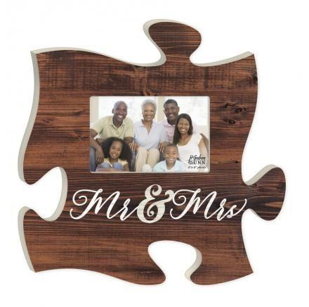 Puzzle Piece - Puzzle Art - Mr & Mrs (Small)