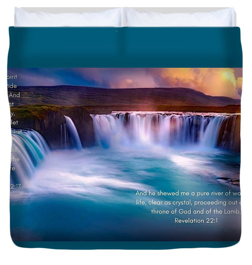 River Of Life - Duvet Cover - Love the Lord Inc