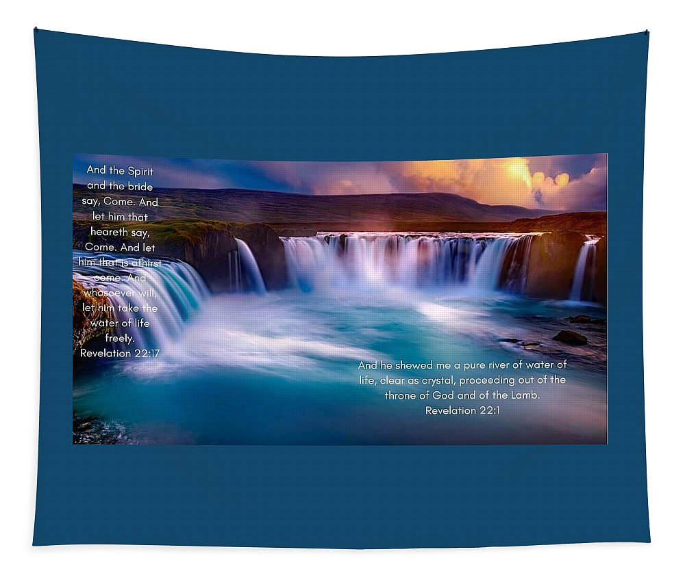 River Of Life - Tapestry - Love the Lord Inc