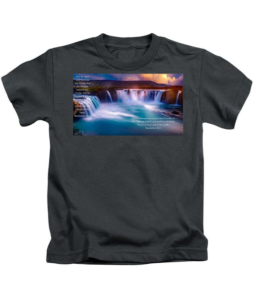 River Of Life - Kids T-Shirt - Love the Lord Inc