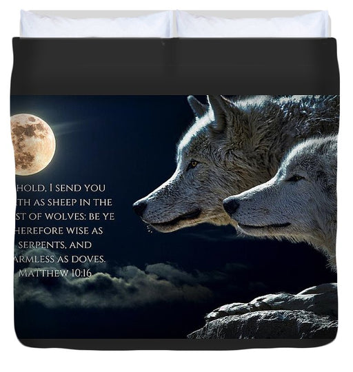 I Send You Forth - Duvet Cover - Love the Lord Inc