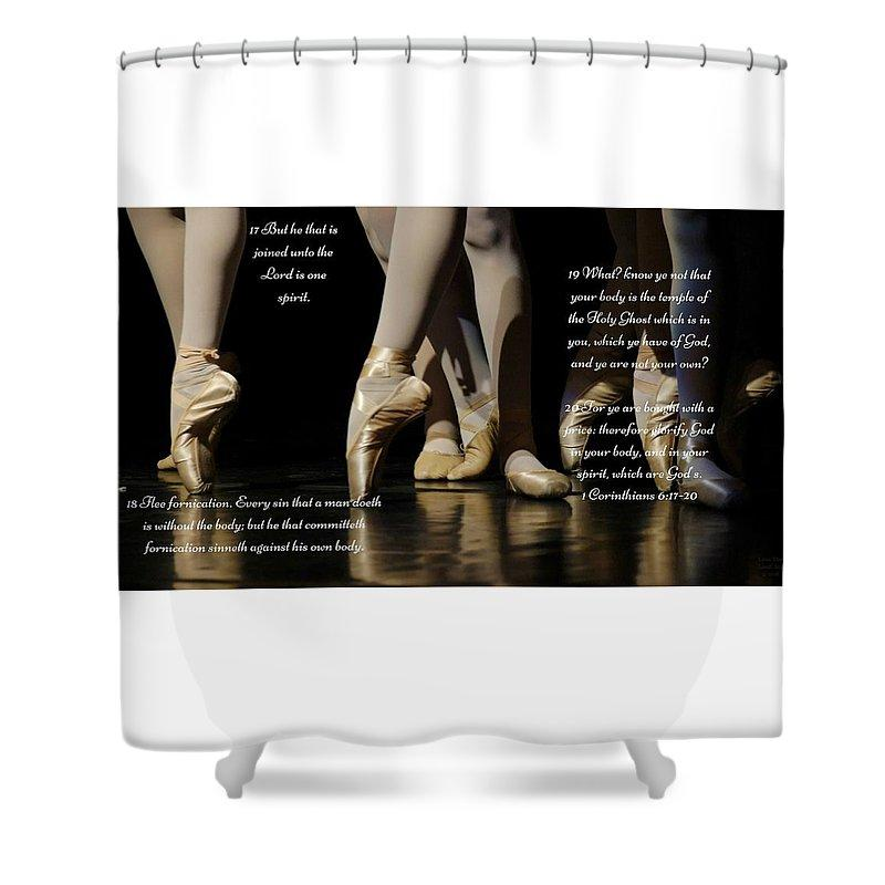 Bought With A Price  - Shower Curtain - Love the Lord Inc