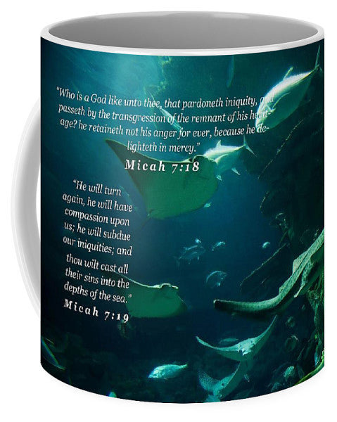 Sins Tossed Into the Sea - Mug - Love the Lord Inc