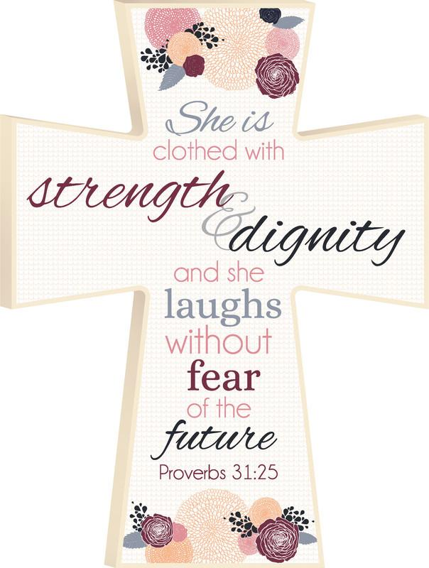 Christian Cross - Proverbs 31 Woman - Love the Lord Inc