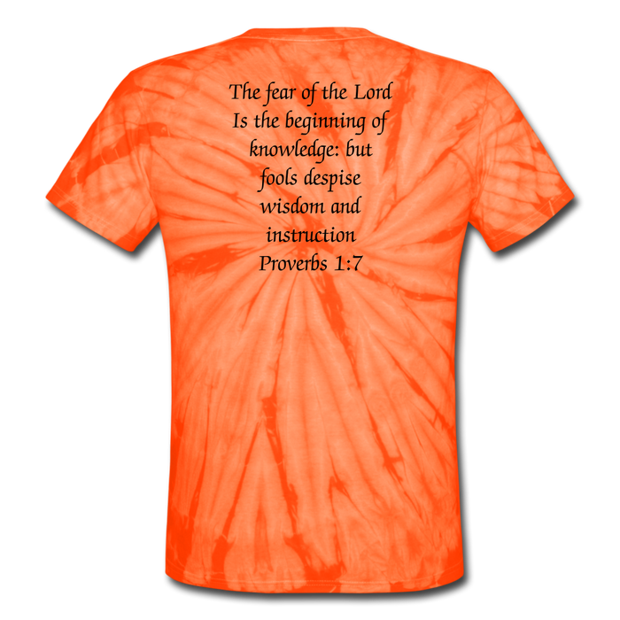 Tie Dye T-Shirt - Fear The Lord - Love the Lord Inc