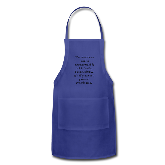 Adjustable Apron - For The Man That Bar-B-Que's - Love the Lord Inc