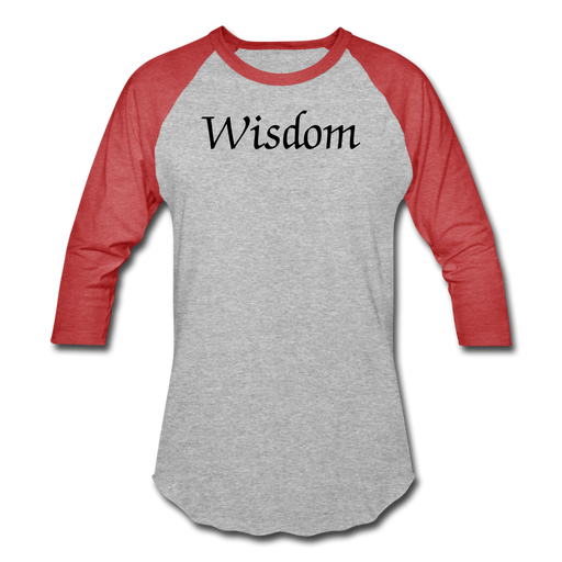 Baseball T-Shirt - Wisdom - Love the Lord Inc