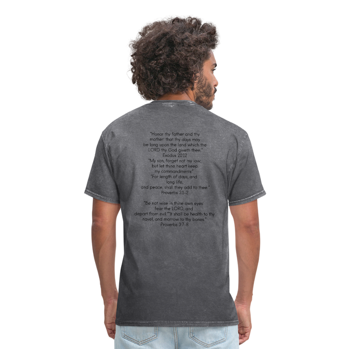 Men's T-Shirt - Health Benefits - Love the Lord Inc