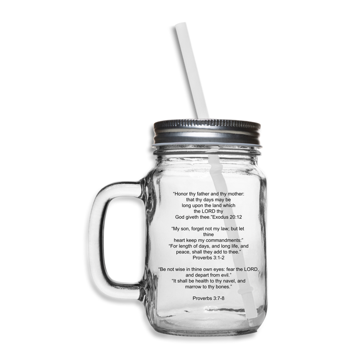 Mason Jar - Health Benefits - Love the Lord Inc