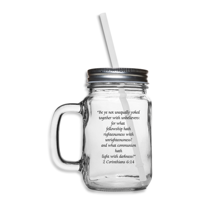 Mason Jar - Righteousness - Love the Lord Inc