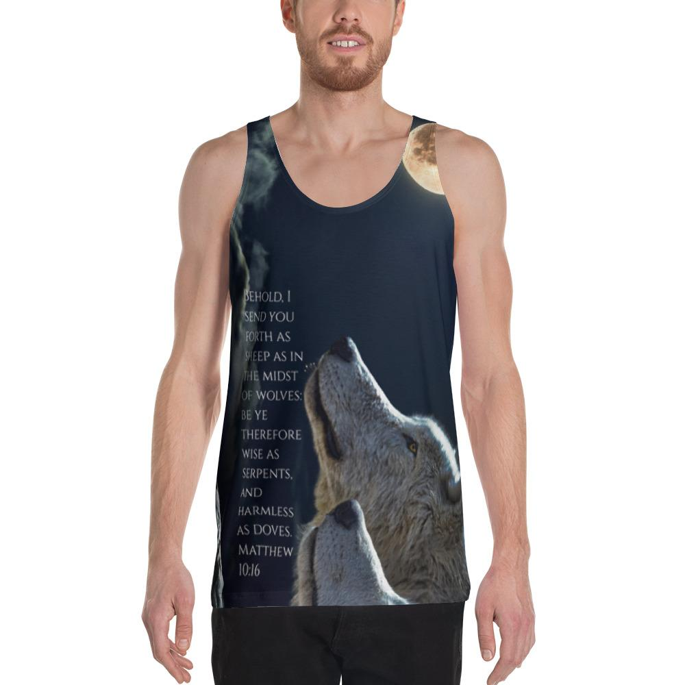 I Send You Forth! All Around Tank Top - Love the Lord Inc