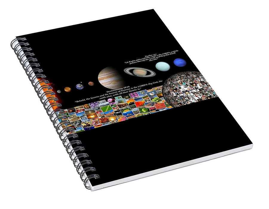 The Earth Is The Lord - Spiral Notebook - Love the Lord Inc