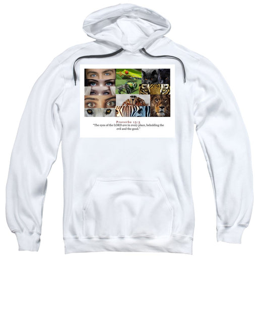 The Eyes of the Lord - Sweatshirt - Love the Lord Inc