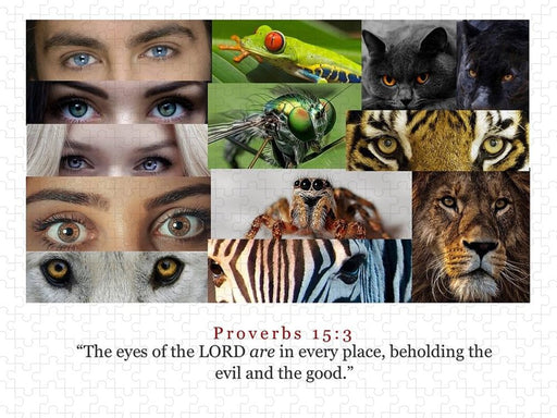 The Eyes of the Lord - Puzzle - Love the Lord Inc