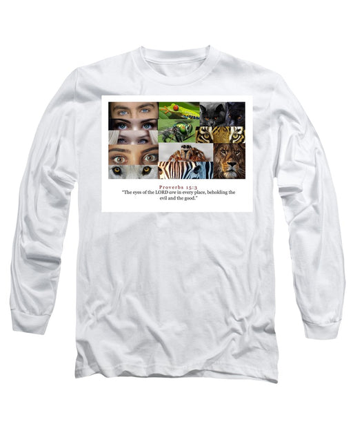 The Eyes of the Lord - Long Sleeve T-Shirt - Love the Lord Inc