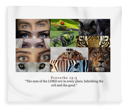 The Eyes of the Lord - Blanket - Love the Lord Inc
