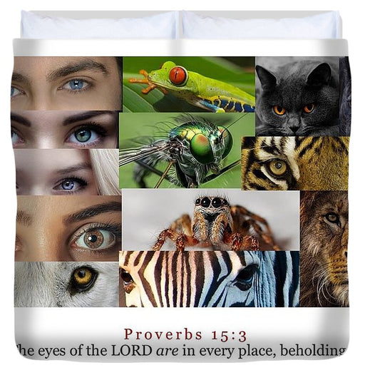 The Eyes of the Lord - Duvet Cover - Love the Lord Inc