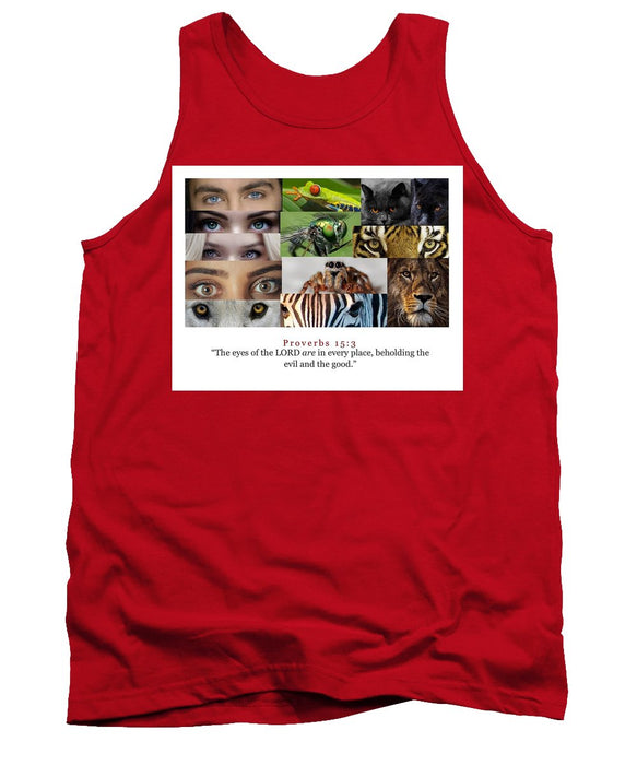 The Eyes of the Lord - Tank Top - Love the Lord Inc