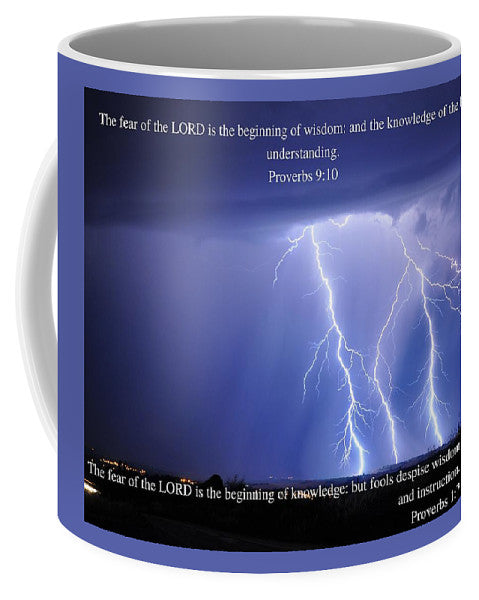 The Fear Of The Lord - Thunder - Mug - Love the Lord Inc