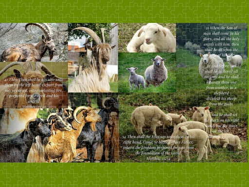 The Goats and The Sheep - Puzzle - Love the Lord Inc