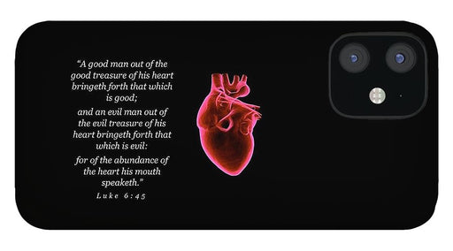 The Heart of Man - Phone Case - Love the Lord Inc