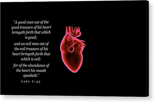 The Heart of Man - Acrylic Print - Love the Lord Inc