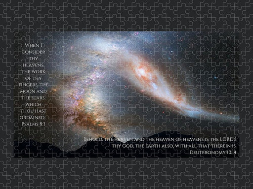 The Heavens and Earth God Made - Puzzle - Love the Lord Inc