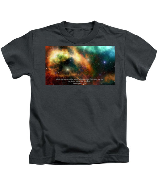 The Heavens - Kids T-Shirt - Love the Lord Inc