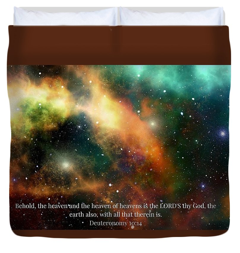 The Heavens - Duvet Cover - Love the Lord Inc