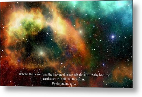 The Heavens - Metal Print - Love the Lord Inc