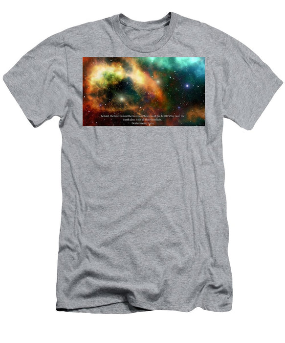 The Heavens - Men's T-Shirt (Athletic Fit) - Love the Lord Inc