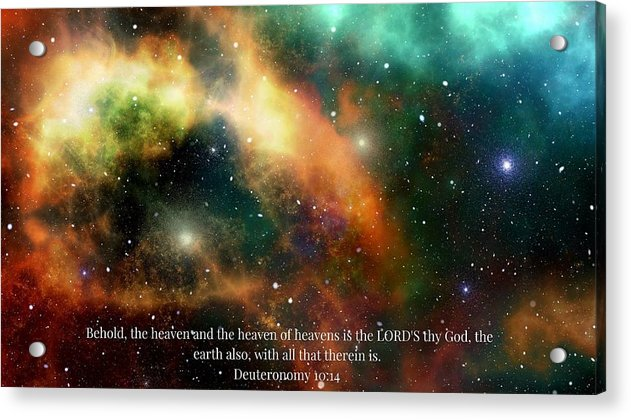 The Heavens - Acrylic Print - Love the Lord Inc