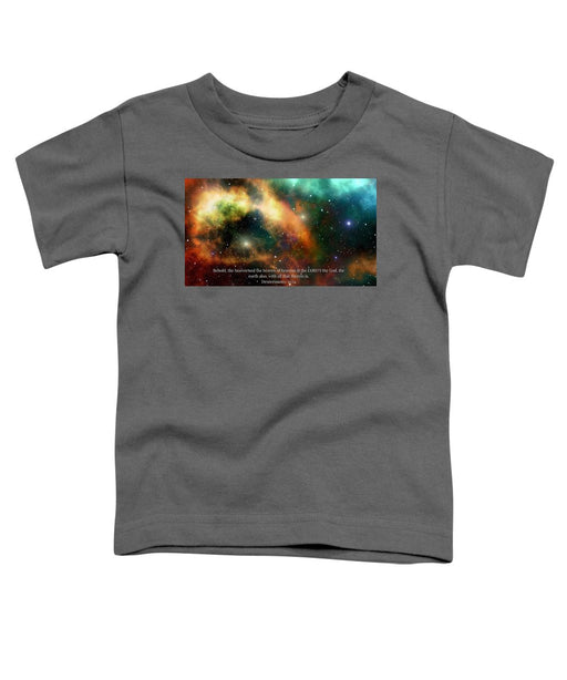 The Heavens - Toddler T-Shirt - Love the Lord Inc