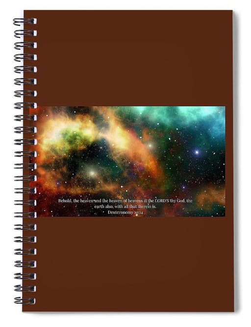 The Heavens - Spiral Notebook - Love the Lord Inc