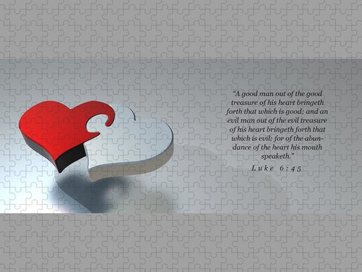 The Two Hearts of Man - Puzzle - Love the Lord Inc
