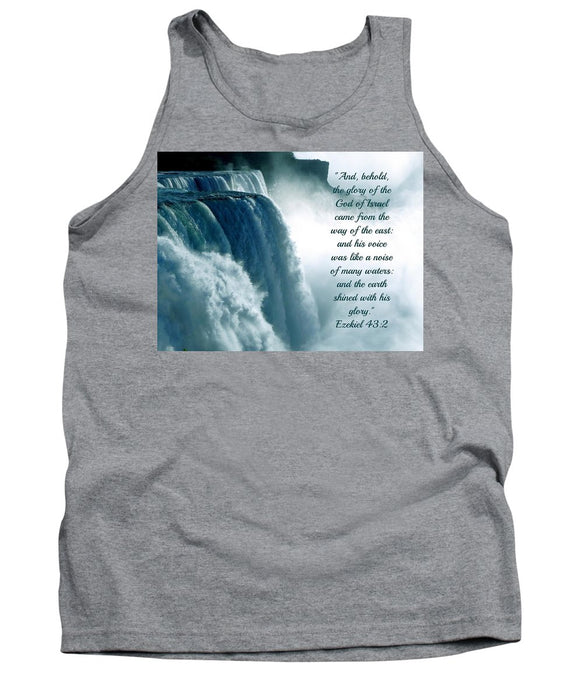 The Voice Of God - Tank Top - Love the Lord Inc