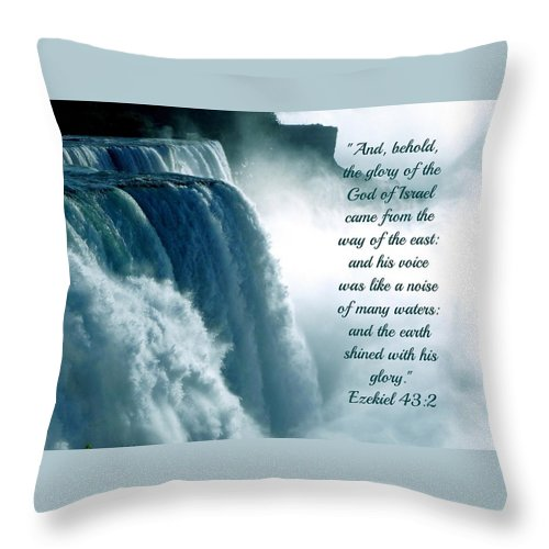 The Voice Of God - Throw Pillow - Love the Lord Inc