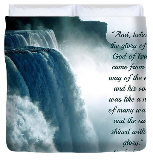The Voice Of God - Duvet Cover - Love the Lord Inc