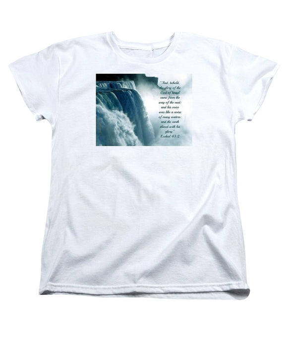 The Voice Of God - Women's T-Shirt (Standard Fit) - Love the Lord Inc