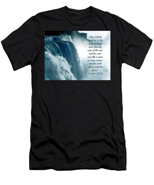 The Voice Of God - Men's T-Shirt (Athletic Fit) - Love the Lord Inc