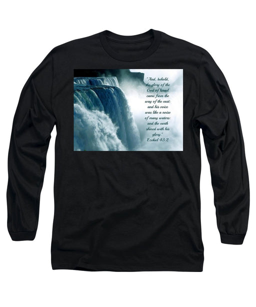 The Voice Of God - Long Sleeve T-Shirt - Love the Lord Inc