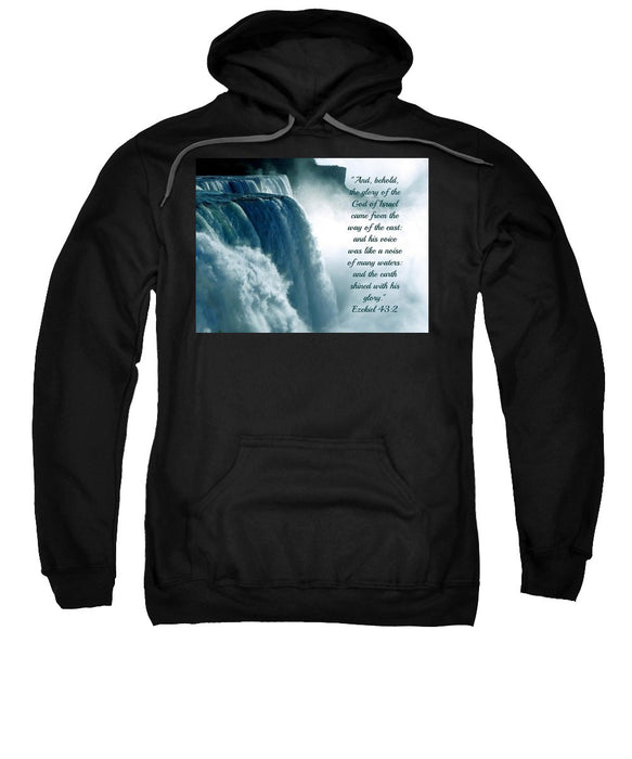 The Voice Of God - Sweatshirt - Love the Lord Inc
