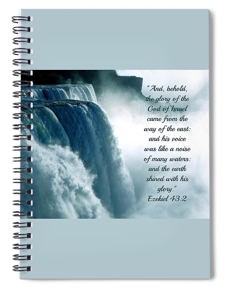 The Voice Of God - Spiral Notebook - Love the Lord Inc