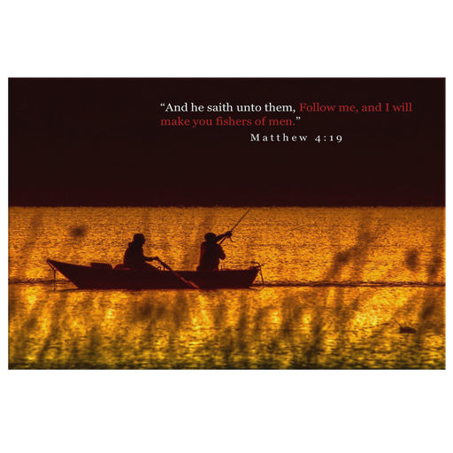 Canvas Print - Follow Me, Fishers of Men - Love the Lord Inc