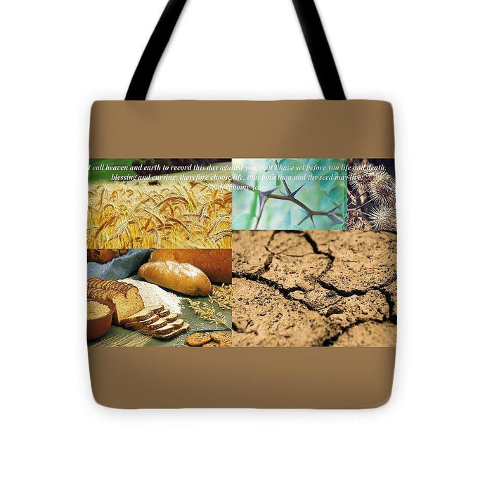 Blessing And Curses - Tote Bag - Love the Lord Inc