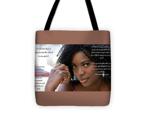 Your Body Is Not Your Own - Tote Bag - Love the Lord Inc