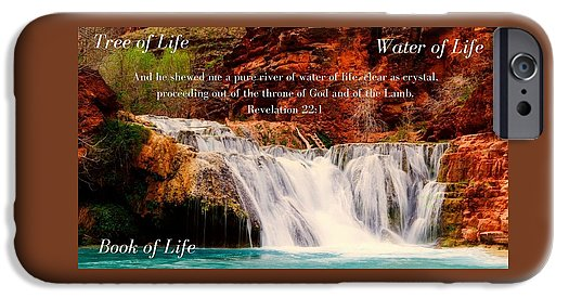 Tree Water Book of Life River - Phone Case - Love the Lord Inc